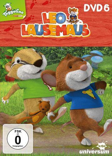 DVD Leo Lausemaus 06 6 Heute bin ich ein Faulpelz TV-Serie Episode 45-52 Universum Kids NEU & OVP