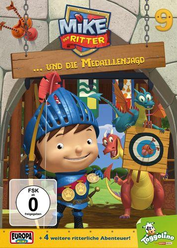 DVD Mike, der Ritter 09 9 und die Medaillenjagd TV-Serie 5 Episode OVP & NEU