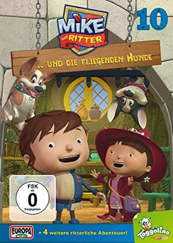 DVD Mike, der Ritter 10 und die fliegenden Hunde TV-Serie 5 Episode OVP & NEU