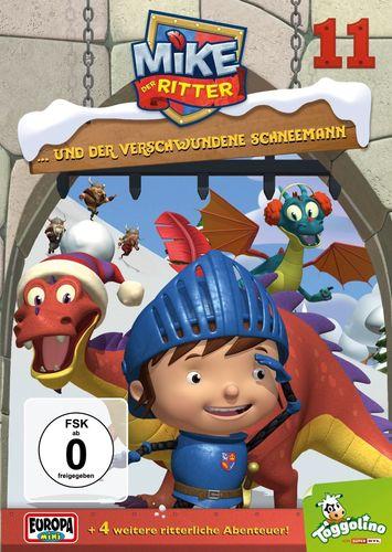 DVD Mike, der Ritter 11 und der verschwundene Schneemann TV-Serie 5 Episode OVP & NEU