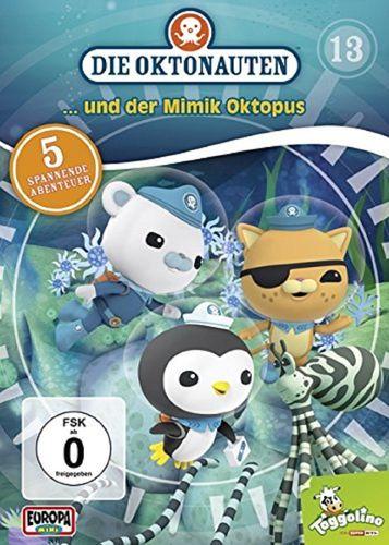 DVD Die Oktonauten 13 und der Mimik Oktopus TV-Serie 5 Episoden OVP & NEU