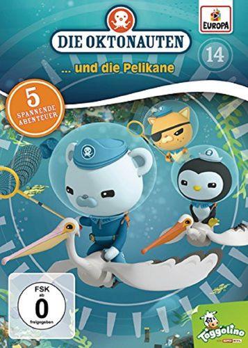 DVD Die Oktonauten 14 und die Pelikane TV-Serie 5 Episoden OVP & NEU