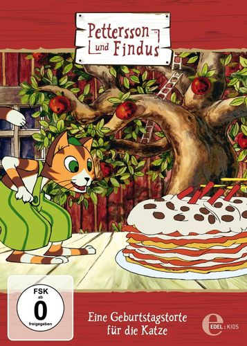 DVD Pettersson und Findus 01 1 Eine Geburtstagstorte für Katze 2015 TV-Serie Edel Kids NEU
