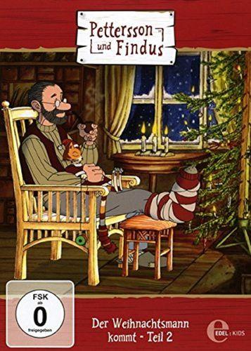 DVD Pettersson und Findus 08 8 Der Weihnachtsmann kommt Teil 2 2015 TV-Serie Edel Kids  NEU