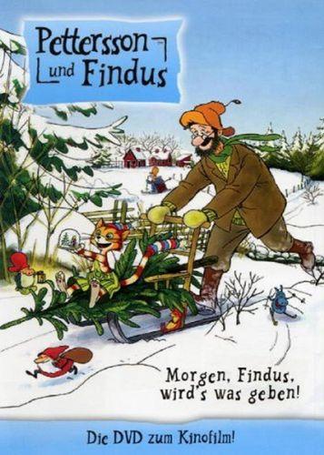 DVD Pettersson und Findus 3. Kinofilm Morgen, Findus, wird's was geben  2007 Edel Kids NEU & OVP