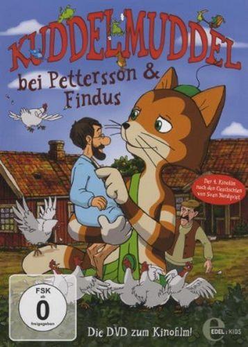 DVD Pettersson und Findus 4. Kinofilm Kuddelmuddel bei Pettersson und Findus 2010 Edel Kids NEU OVP
