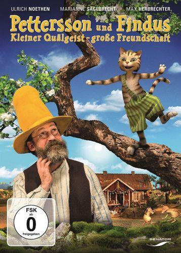 DVD Pettersson und Findus 5. Kinofilm Kleiner Quälgeist - große Freundschaft 2014 Edel Kids NEU OVP