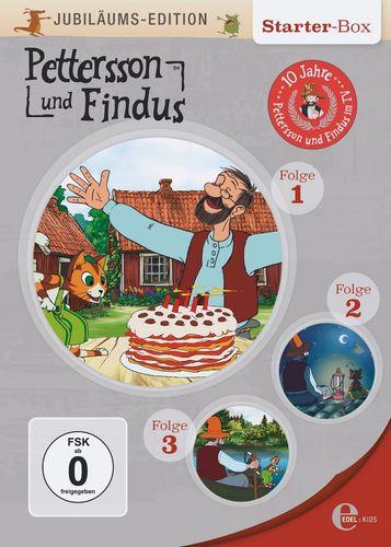 DVD Pettersson und Findus Jubiläums-Edition Box 1 Folge 1 2 3 Edel Kids NEU & OVP