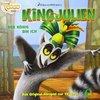 King Julien aus Madagascar Hörspiel CD 001 1 Der König bin ich TV-Serie Edel Kids NEU