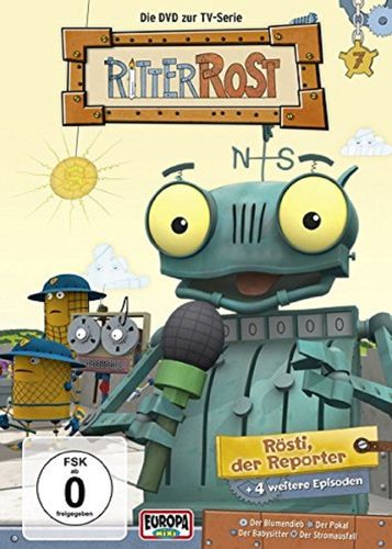 DVD Ritter Rost 07 7 Rösti, der Reporter TV-Serie 5 Episoden NEU & OVP