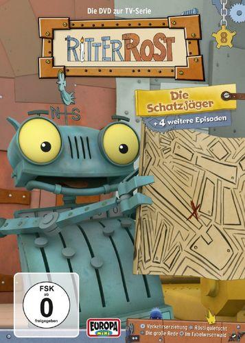DVD Ritter Rost 08 8 Die Schatzjäger TV-Serie 5 Episoden NEU & OVP