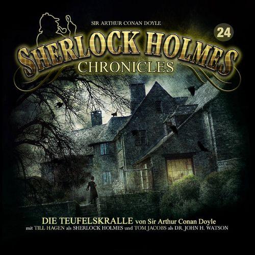 Sherlock Holmes Chronicles Hörspiel CD 024 24 Die Teufelskralle NEU & OVP