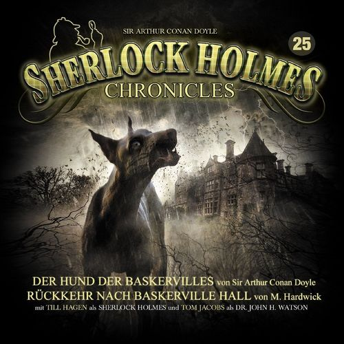 Sherlock Holmes Chronicles Hörspiel CD 025 25 Der Hund der Baskervilles + Rückkehr  5er CDs NEU