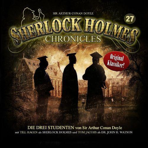 Sherlock Holmes Chronicles Hörspiel CD 027 27 Die drei Studenten  NEU & OVP