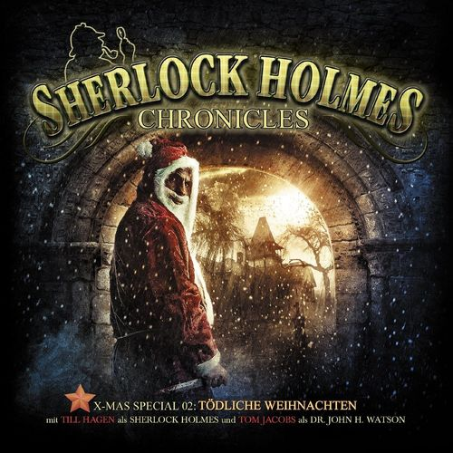 Sherlock Holmes Chronicles Hörspiel CD X-Mas 2 Tödliche Weihnachten 2er Box NEU & OVP