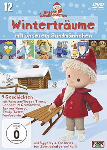 DVD Unser Sandmännchen 12 Winterträume mit dem Sandmann TV-Serie OVP & NEU