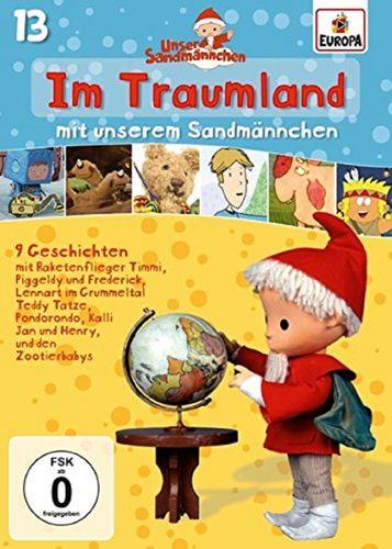 DVD Unser Sandmännchen 13 Im Traumland mit unserem Sandmännchen TV-Serie OVP & NEU