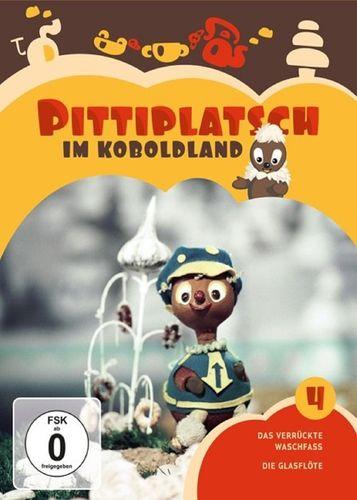 DVD Pittiplatsch aus Unser Sandmännchen 04 4 Pittiplatsch im Koboldland TV-Serie 2 DVDs OVP & NEU