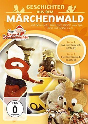 DVD Herr Fuchs und Frau Elster - Geschichten aus dem Märchenwald aus Unser Sandmännchen 01 1 NEU