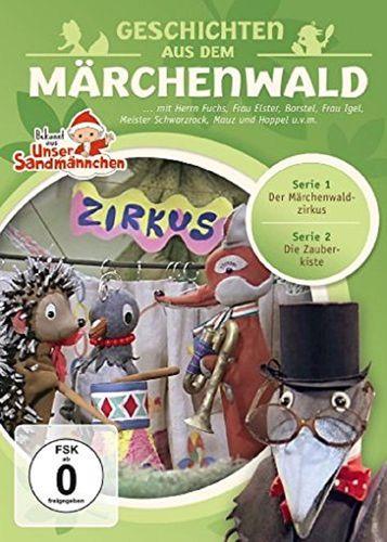 DVD Herr Fuchs und Frau Elster - Geschichten aus dem Märchenwald aus Unser Sandmännchen 02 2 NEU