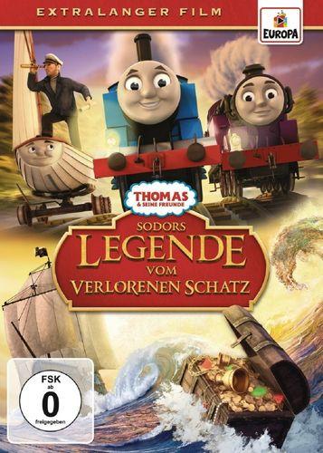 DVD Thomas und seine Freunde Special Sodors Legende vom verlorenen Schatz TV-Serie 2016 OVP & NEU