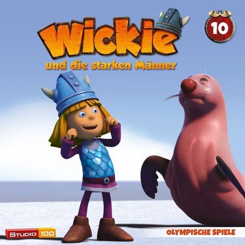 Wickie und die starken Männer Hörspiel CD 010 10 Olympische Spiele Folge 59-64 CGI TV-Serie NEU