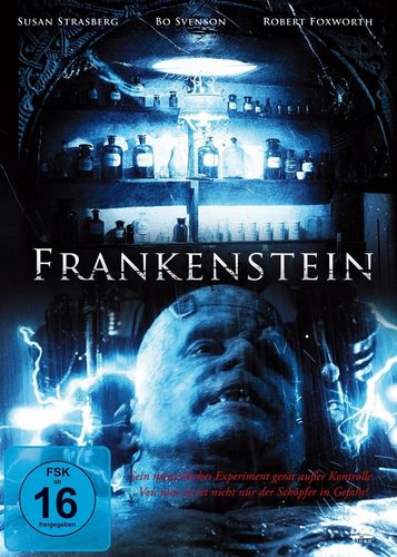 DVD Dan Curtis - Frankenstein  mit Bo Svenson + Susan Strasberg TV-Serie von 2013 FSK 16  NEU & OVP