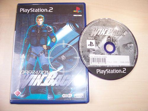 PlayStation 2 PS2 Spiel - Operation Winback  USK 18 komplett + Anleitung gebr