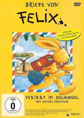 DVD Briefe von Felix - Verirrt im Dschungel und 5 weitere Abenteuer TV-Serie  FSK 0
