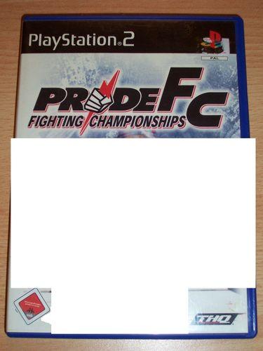 PlayStation 2 PS2 Spiel - Pride FC Fighting Championships USK 18 komplett + Anleitung gebr.