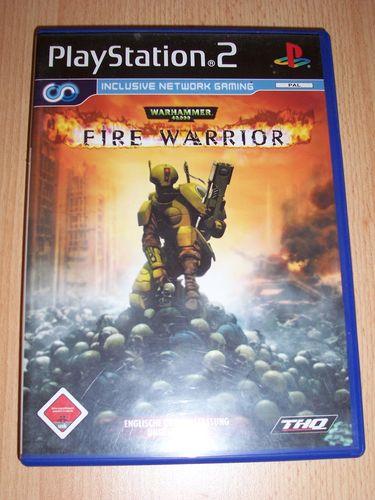 PlayStation 2 PS2 Spiel - Warhammer 40.000 - Fire Warrior  USK 18 komplett + Anleitung gebr.