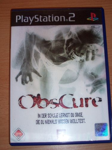 PlayStation 2 PS2 Spiel - Obscure 1 - mit 3D Cover Bild  USK 18 komplett + Anleitung gebr.