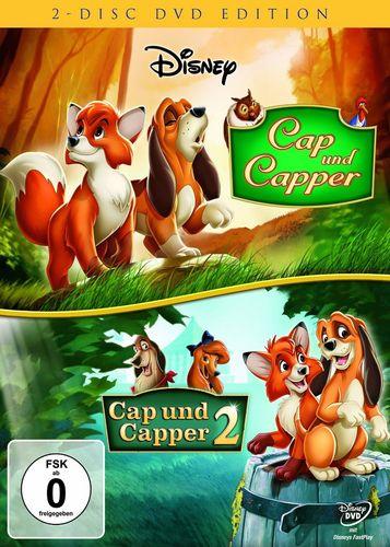 DVD Walt Disney 2er Box - Cap und Capper 1 + 2 FSK 0 NEU & OVP