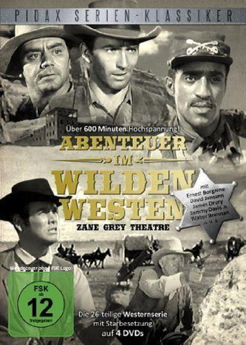 DVD Western Box Abenteuer im Wilden Westen komlette Serie 26 Episoden 2011 FSK 12 Western NEU & OVP