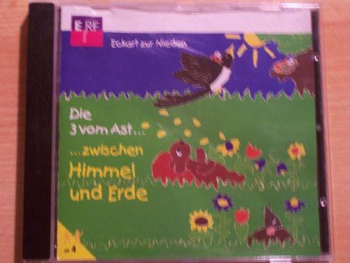 Die 3 vom Ast Hörspiel CD 009  9 zwischen Himmel und Erde  von ERF  gebr.