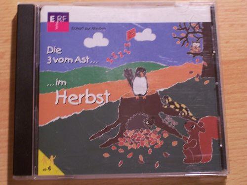 Die 3 vom Ast Hörspiel CD 010 10 im Herbst  von ERF  gebr.