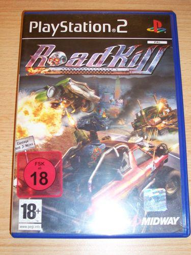 PlayStation 2 PS2 Spiel - Roadkill  USK 18 komplett + Anleitung gebr.