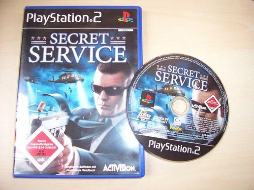 PlayStation 2 PS2 Spiel - Secret Service   USK 18 komplett + Anleitung gebr.