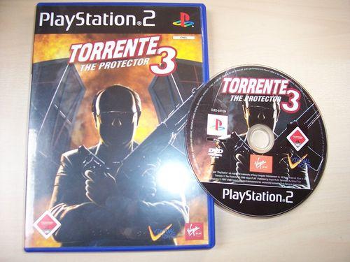 PlayStation 2 PS2 Spiel - Torrente 3 - The Protector  USK 18 komplett + Anleitung gebr.