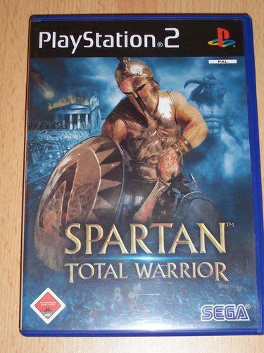 PlayStation 2 PS2 Spiel - Spartan - Total Warrior  USK 18 komplett + Anleitung gebr.