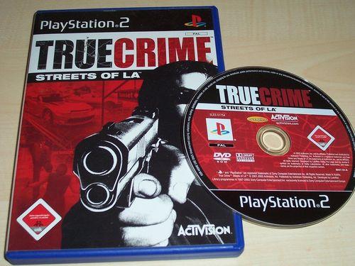 PlayStation 2 PS2 Spiel - True Crime 1 - Streets of LA  USK 18 komplett ohne Anleitung gebr.