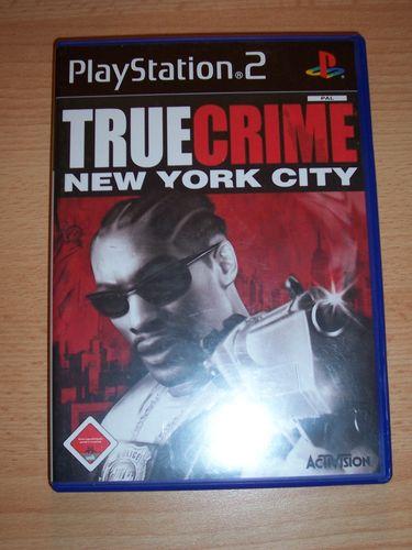 PlayStation 2 PS2 Spiel - True Crime 2 - New York City  USK 18 komplett ohne Anleitung gebr.