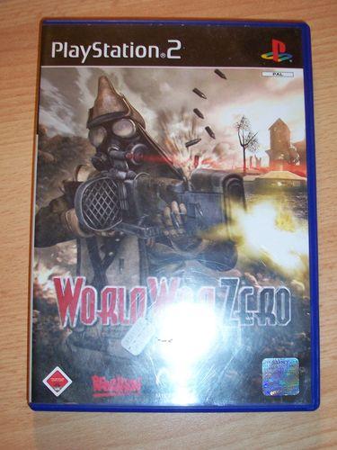 PlayStation 2 PS2 Spiel - World War Zero - IronStorm   USK 18 komplett + Anleitung gebr.
