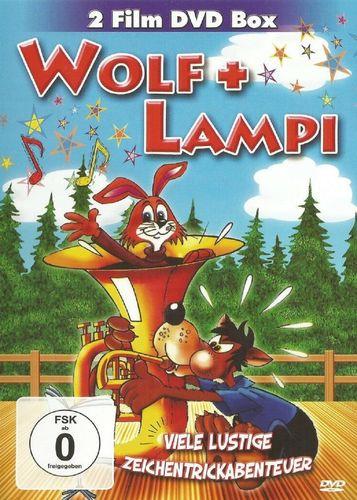 DVD Wolf + Lampi 1 + 2 12 Folgen  2 Film DVD Box 2013 FSK 0 Zeichentrickfilm NEU & OVP