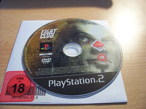 PlayStation 2 PS2 Spiel - Fight Club   USK 18  nur CD  gebr.
