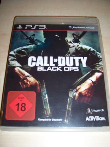 PlayStation 3 PS3 Spiel - CoD Call of Duty - Black Ops 1  USK 18 komplett + Anleitung  gebr.