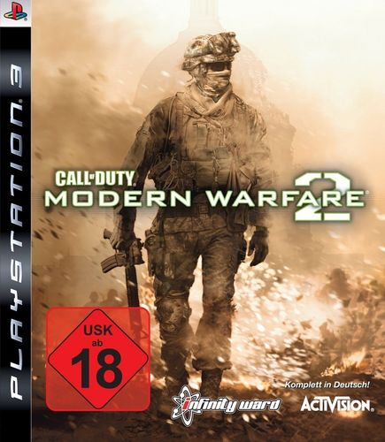 PlayStation 3 PS3 Spiel - CoD Call of Duty - Modern Warfare 2  MW2  USK 18 komplett  NEU & OVP