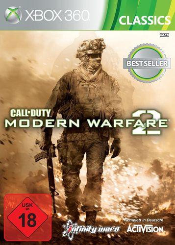 X-Box XBOX 360 Spiel - CoD Call of Duty - Modern Warfare 2  MW2 Classics  USK 18 komplett  NEU & OVP