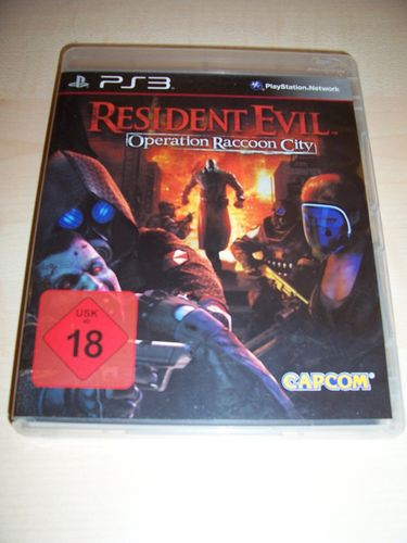 PlayStation 3 PS3 Spiel - Resident Evil - Operation Raccoon City  USK 18 komplett + Anleitung  gebr.