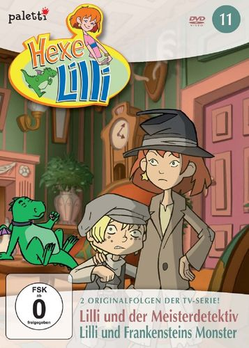 DVD Hexe Lilli Folge 11 - und der Meisterdetektiv + und Frankensteins Monster   FSK 0  NEU & OVP